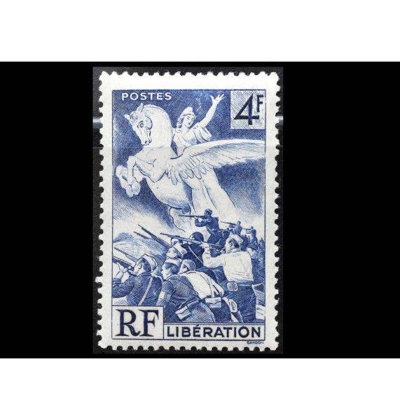 """Франция 1945 г. """"Освобождение Франции от оккупации"""""""