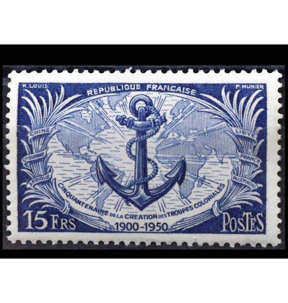 """Франция 1951 г. """"50 лет французским колониальным войскам"""""""