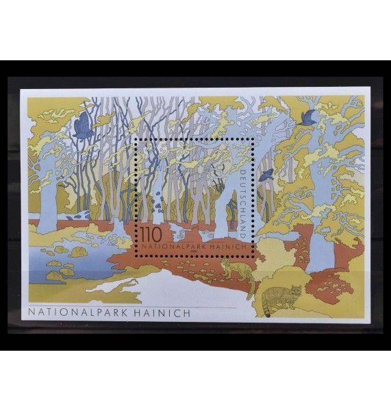 """ФРГ 2000 г. """"Немецкие национальные и природные парки: Национальный парк Хайних"""""""
