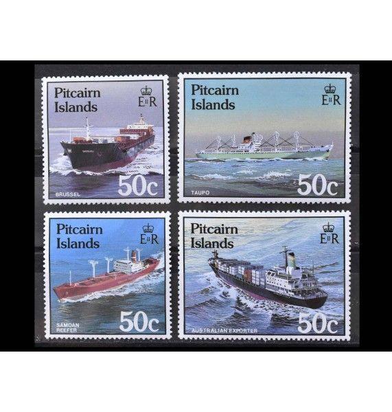 "Острова Питкэрн 1987 г. ""Корабли"""