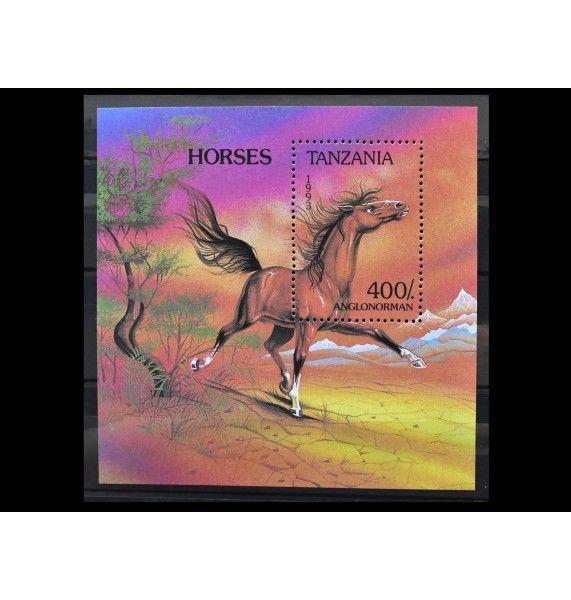 "Танзания 1993 г. ""Лошади"""
