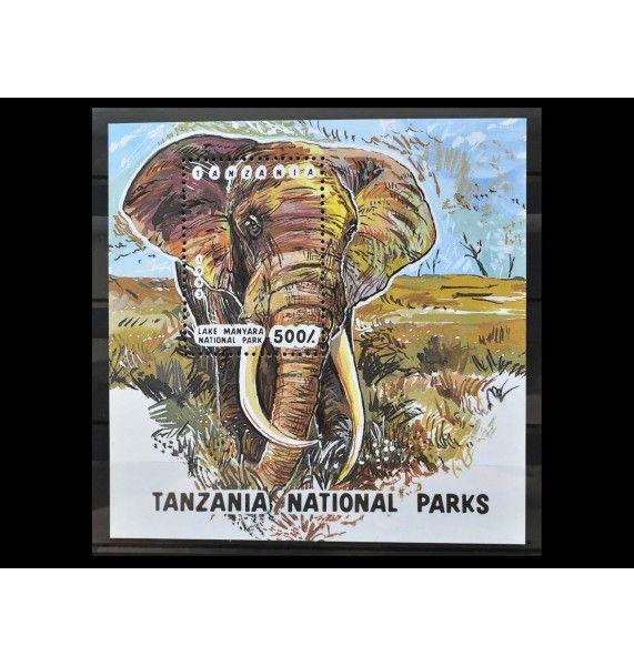 "Танзания 1993 г. ""Национальный парк"""
