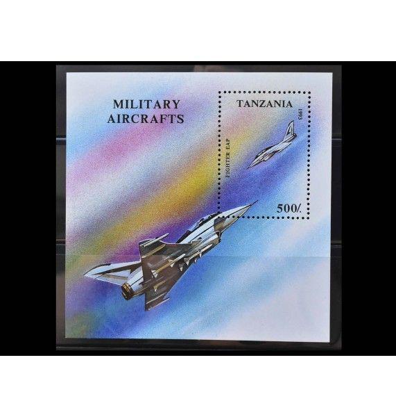 """Танзания 1993 г. """"Военный самолет"""""""