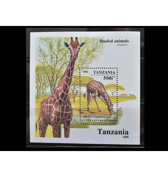 """Танзания 1995 г. """"Африканские копытные"""""""