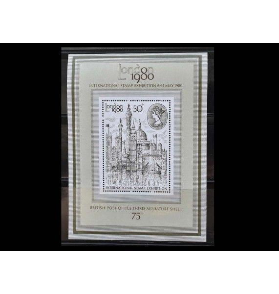 """Великобритания 1980 г. """"Международная выставка марок LONDON 1980"""""""