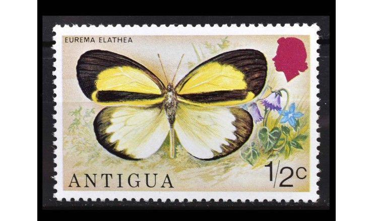 """Антигуа 1975 г. """"Бабочки"""""""