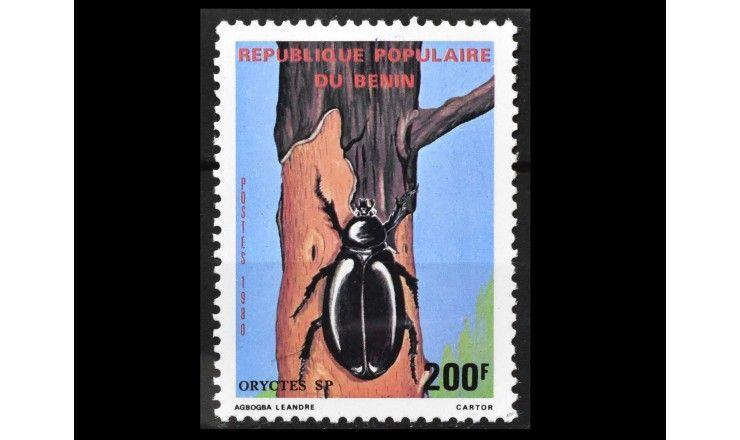 """Бенин 1980 г. """"Насекомые"""""""