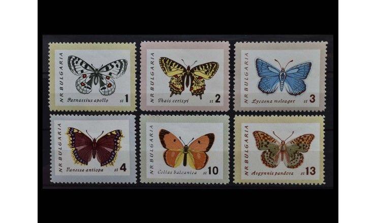 """Болгария 1962 г. """"Бабочки"""""""