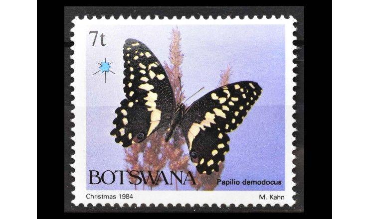 "Ботсвана 1984 г. ""Рождество: Бабочки"""