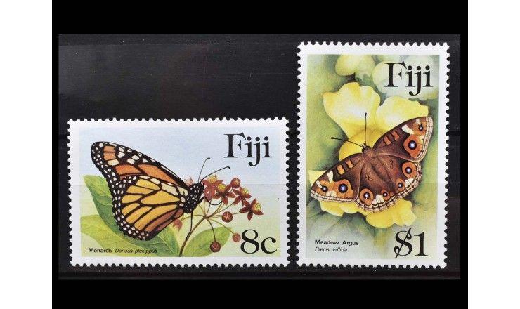 "Фиджи 1985 г. ""Бабочки"""