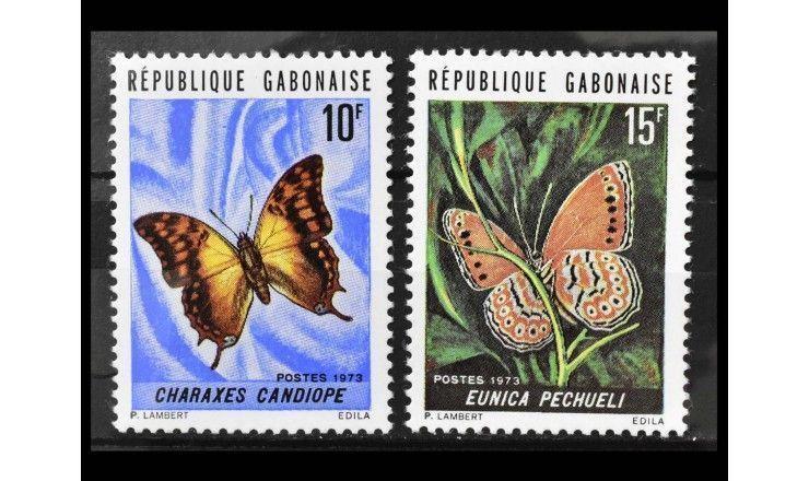 """Габон 1973 г. """"Бабочки"""""""