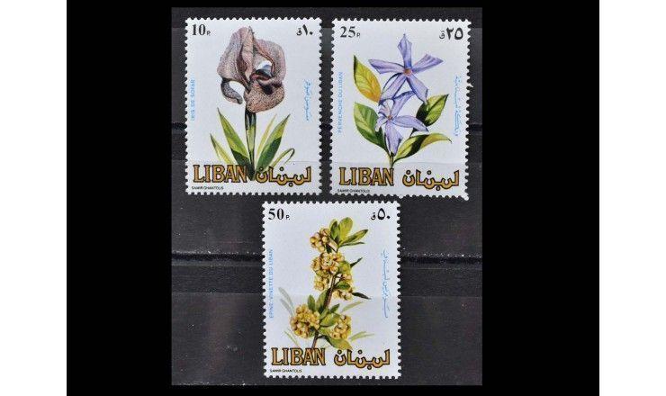 "Ливан 1984 г. ""Цветы"""