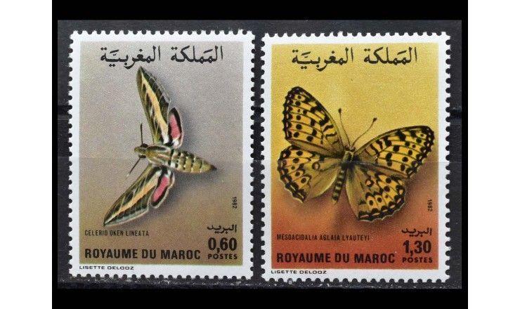 "Марокко 1982 г. ""Бабочки"""