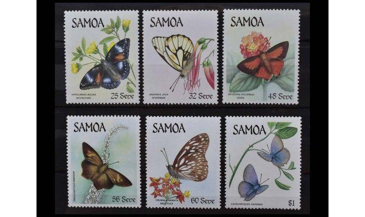 """Самоа 1986 г. """"Бабочки"""""""