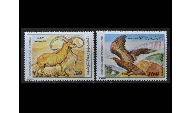 """Тунис 1980 г. """"Фауна и флора"""""""
