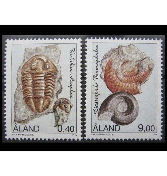 """Аландские острова 1996 г. """"Фоссилии"""""""