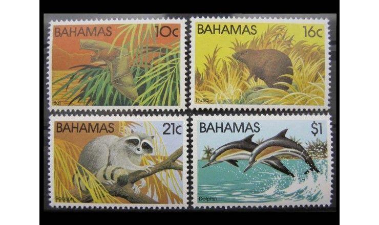 """Багамские острова 1982 г. """"Млекопитающие"""""""