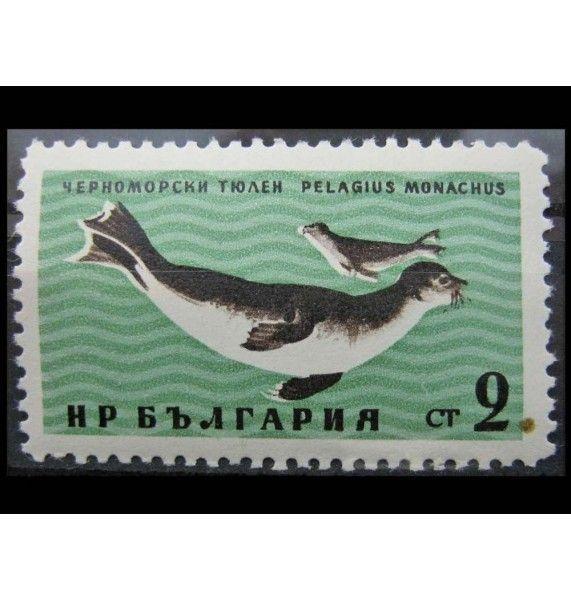 """Болгария 1961 г. """"Животные Черного моря"""""""