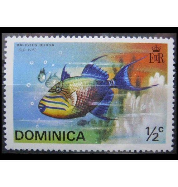 """Доминика 1975 г. """"Рыбы"""""""