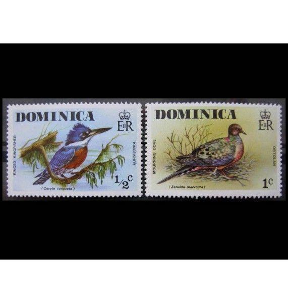 """Доминика 1976 г. """"Местные птицы"""""""