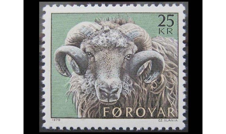 """Фарерские острова 1979 г. """"Овцеводство"""""""
