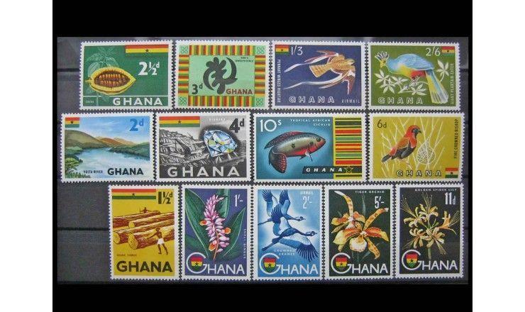 """Гана 1959 г. """"Национальные символы"""""""