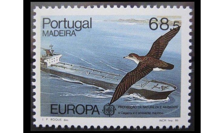 """Мадейра 1986 г. """"Европа: Природа и охрана окружающей среды"""""""