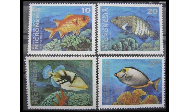 """Микронезия 1994 г. """"Рыбы"""""""