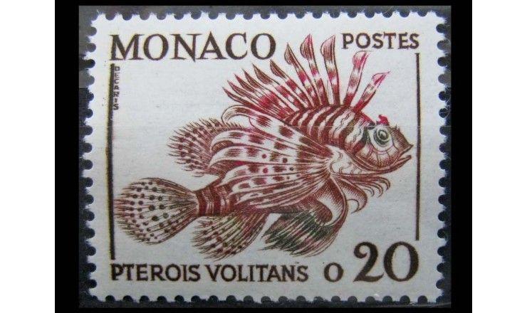 """Монако 1960 г. """"Рыбы"""""""