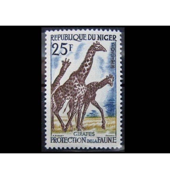 "Нигер 1959 г. ""Благополучие животных"""