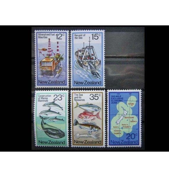 """Новая Зеландия 1978 г. """"Экономическое использование моря"""""""