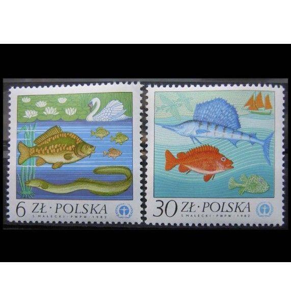 "Польша 1983 г. ""Охрана природы"""