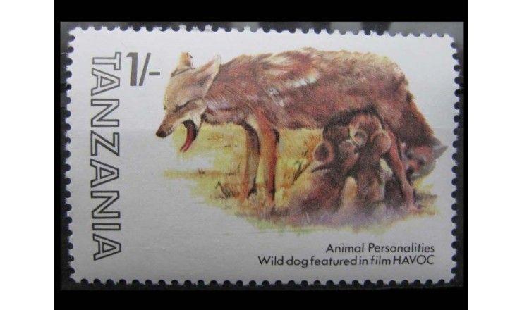 """Танзания 1982 г. """"Животные"""""""
