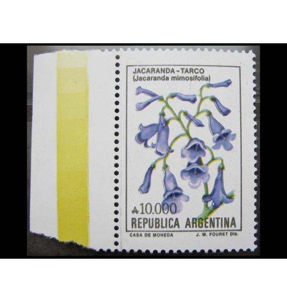 """Аргентина 1990 г. """"Цветы Аргентины"""""""