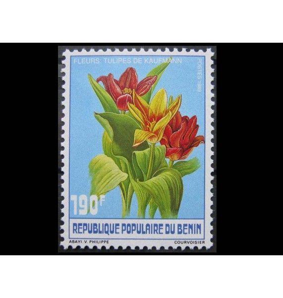 """Бенин 1990 г. """"Фрукты и цветы"""""""