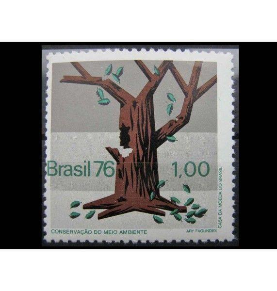 "Бразилия 1976 г. ""Охрана природы"""