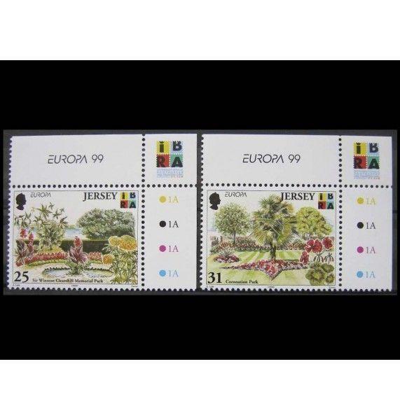 """Джерси 1999 г. """"Европа: Природа и национальный парк"""""""