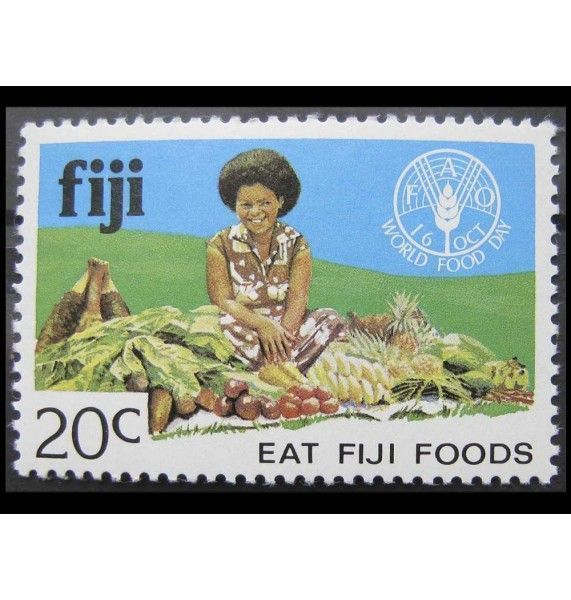 """Фиджи 1981 г. """"Всемирный день продовольствия"""""""