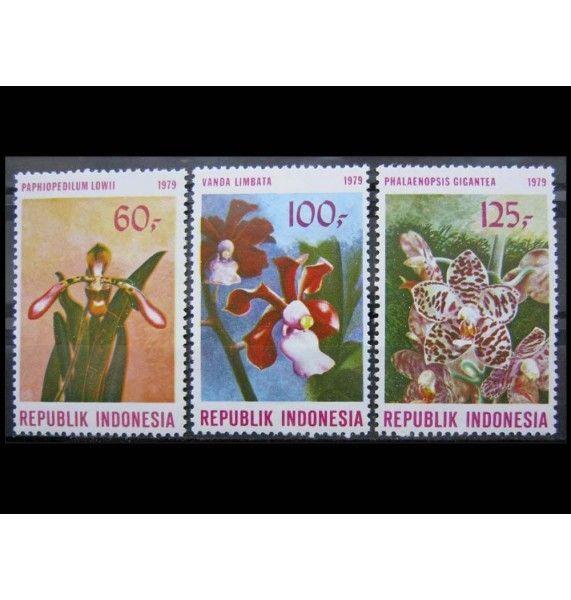 """Индонезия 1979 г. """"Орхидеи"""""""
