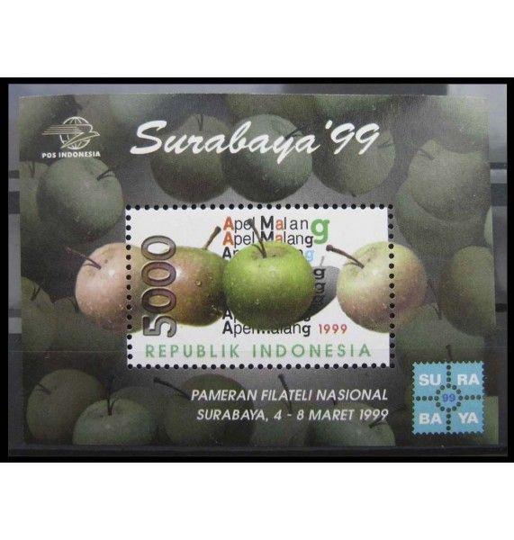 """Индонезия 1999 г. """"Выставка марок SURABAYA`99"""""""