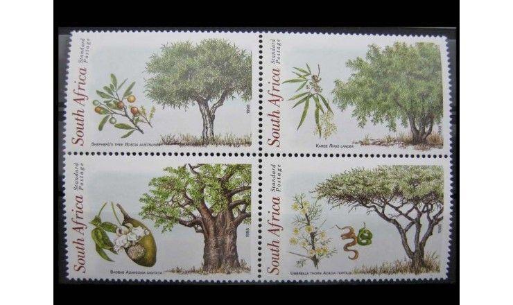 """ЮАР 1998 г. """"Коренные деревья Южной Африки"""""""