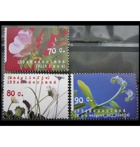 """Нидерланды 1994 г. """"Природа и окружающая среда: Цветы"""""""