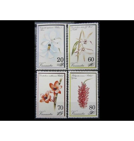 "Вануату 1991 г. ""Орхидеи"""