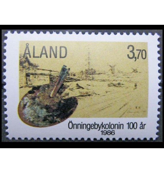 """Аландские острова 1986 г. """"100-летие колонии Эннингебю"""""""