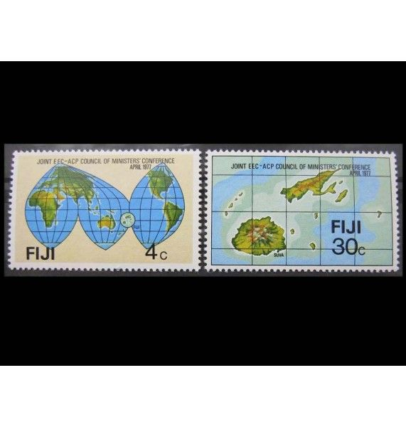 """Фиджи 1977 г. """"Конференция министров стран АКТ и ЕЭС"""""""