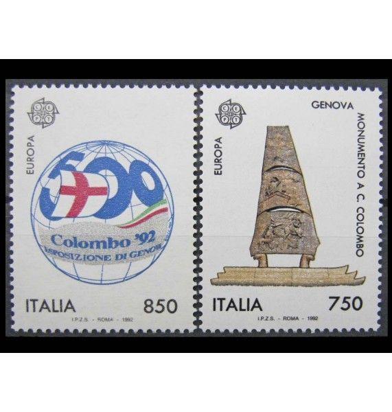"""Италия 1992 г. """"500 лет открытия Америки"""""""