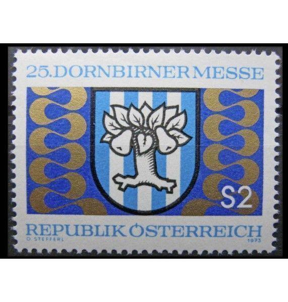 """Австрия 1973 г. """"Дорнбирская ярмарка"""""""