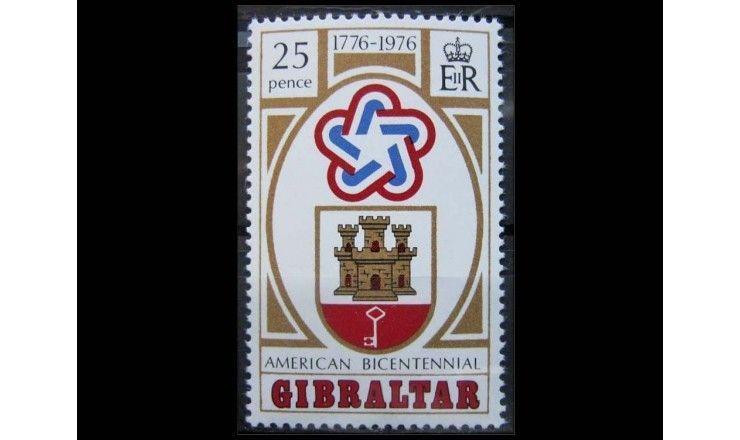"Гибралтар 1976 г. ""200-летие независимости США"""