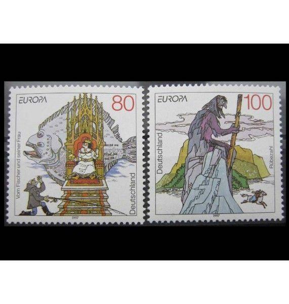 "ФРГ 1997 г. ""Европа: Саги и легенды"""