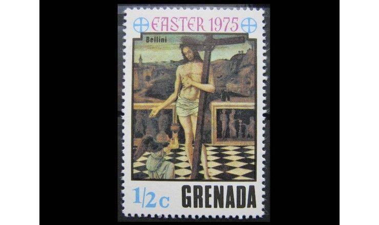 """Гренада 1975 г. """"Картины"""""""